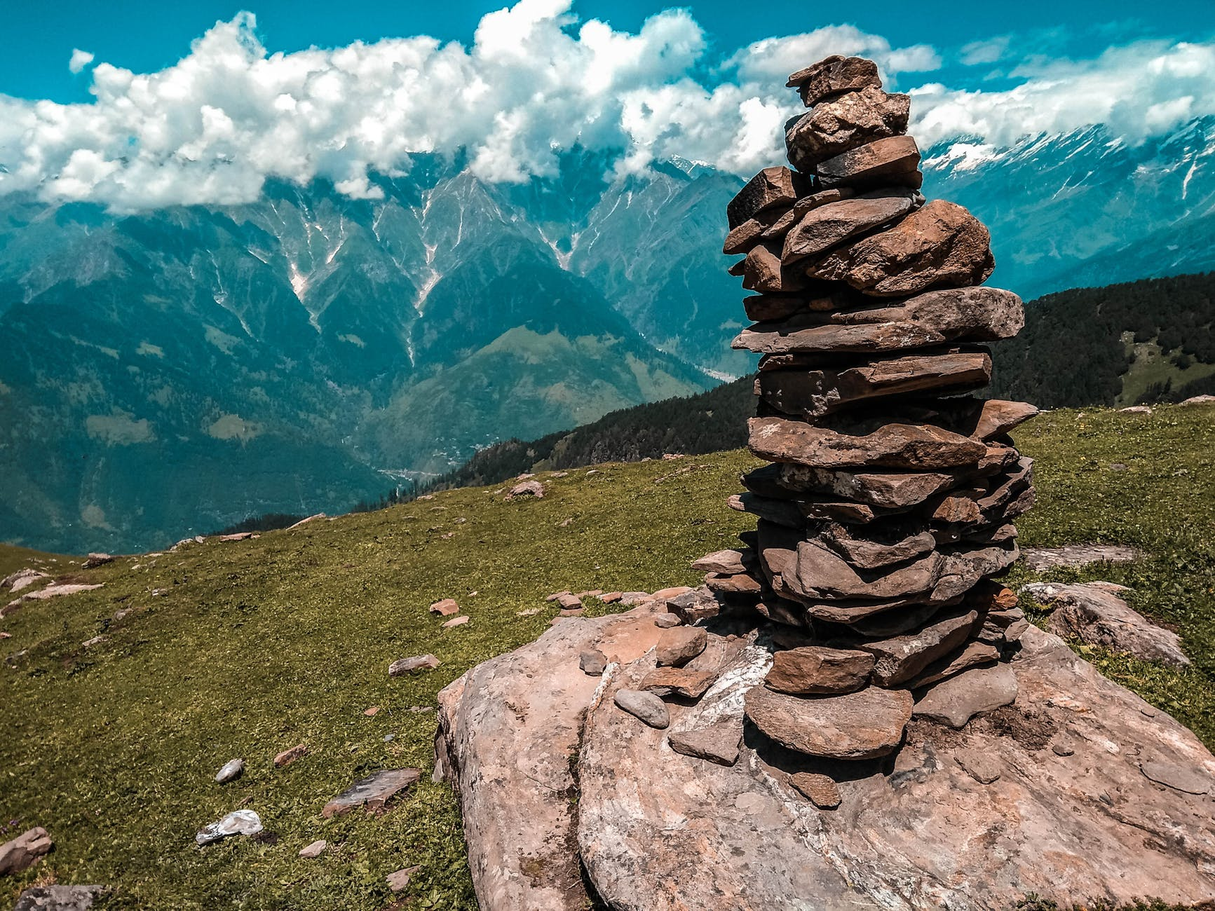 photo of rocks piled on top of each other